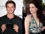 Kristen Stewart flirts with Arnold Schwarzenegger's son