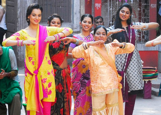 Kangana Ranaut was nervous about dancing with 81-year-old lavani artiste