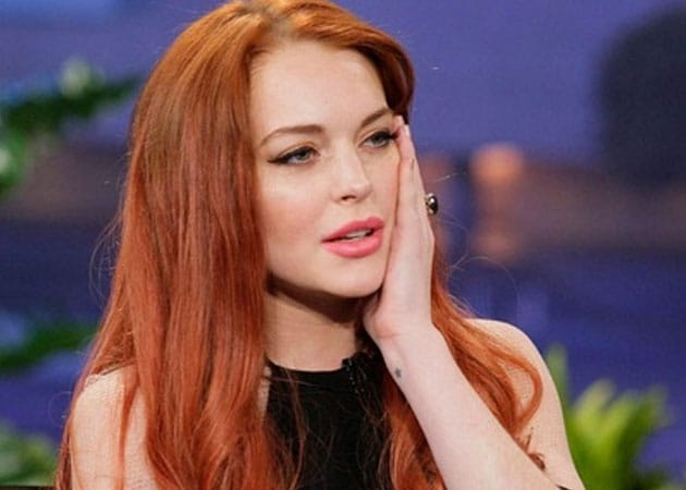 Lindsay Lohan Buries The Hatchet With Scary Movie 5 Producer Ndtv Movies