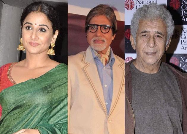 Vidya Balan's next film with Amitabh Bachchan, Naseeruddin Shah