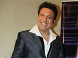 Govinda gifts Hindi dictionary to Ashley Lobo
