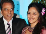 Hema Malini, Dharmendra's younger daughter Ahana engaged