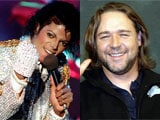 How Michael Jackson used to tease Russell Crowe