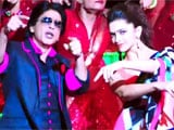 Rajinikanth's blessings for Shah Rukh Khan's Lungi Dance?