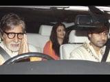 Amitabh Bachchan celebrates Eid at Shah Rukh Khan's residence