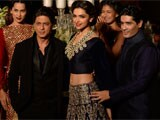 Shah Rukh Khan, Deepika Padukone close Delhi Couture Week as Manish Malhotra's showstoppers