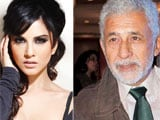 Sunny Leone gets tips from Naseeruddin Shah