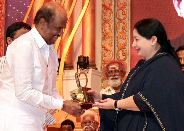 Jayalalithaa felicitates Tamil film legends at Indian cinema centenary celebrations