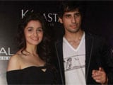 Alia Bhatt, Siddharth Malhotra get makeover at salon launch
