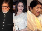 Amitabh Bachchan, Hema Malini wish Lata Mangeshkar on her 84th b'day
