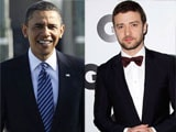 Justin Timberlake: Barack Obama is the coolest guy I have met