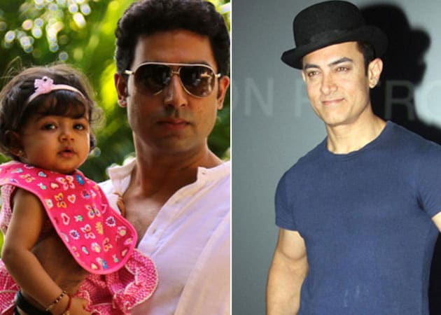 Abhishek Bachchan: Aaradhya got pally with Aamir Khan ...