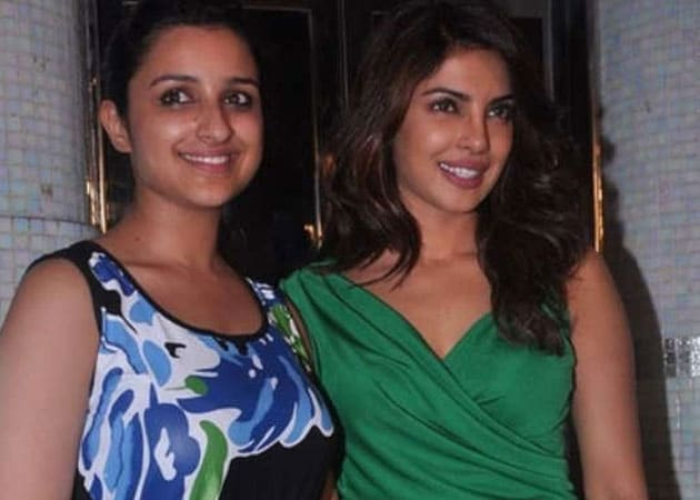 Parineeti chopra and priyanka chopra together