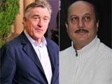 On Robert De Niro's Mumbai menu, food made by Anupam Kher's mother