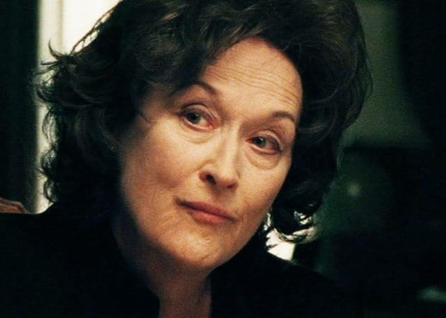 Meryl Streep plays the role of Violet Weston in August: Osage County .