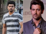 Tamil actor Vijay in awe of Hrithik Roshan in <i>Krrish 3</i>