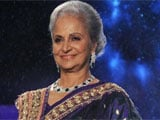 On IFFI stage at Goa, Waheeda Rehman, America and Iran