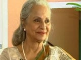 Waheeda Rehman on her favourite role, Guru Dutt and Dev Anand