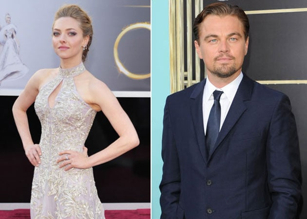 Amanda Seyfried: Leonardo DiCaprio was my first movie crush