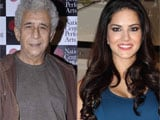 Naseeruddin Shah's rapport with crew impresses Sunny Leone