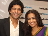 Farhan Akhtar: Having Vidya Balan in Shaadi Ke Side Effects was a big relief