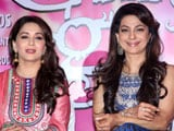 Juhi Chawla and Madhuri Dixit to promote <i>Gulaab Gang</i> on <i>Boogie Woogie</i>