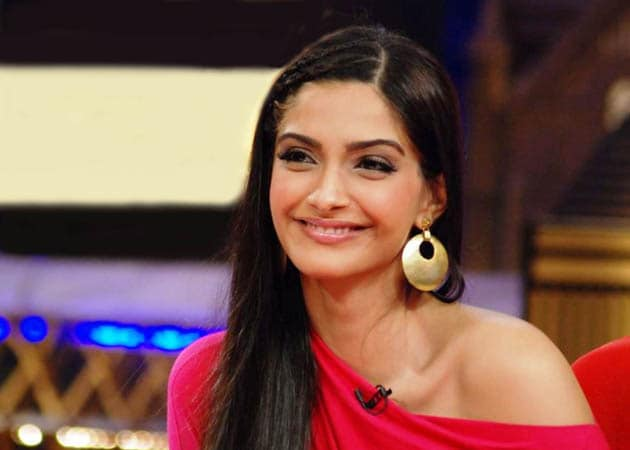 Sonam visited the capital recently to encourage the children of the