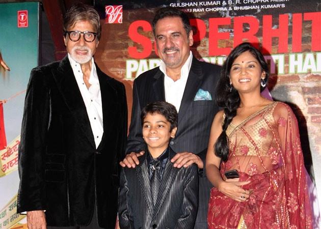 Party Toh Banti Hai:  Amitabh Bachchan celebrates with Bhoothnath Returns cast