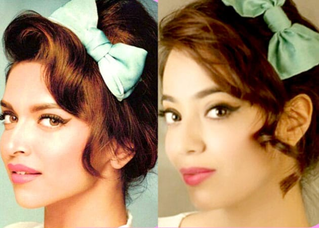Deepika Padukones Retro Hairdo In Six Steps Get The Look At Home
