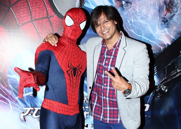 Vivek Oberoi: Dubbed for The Amazing Spiderman 2 due to Jamie Foxx