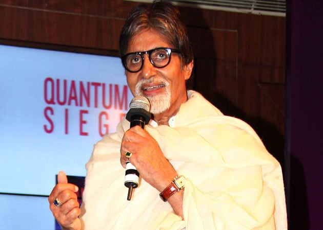 Amitabh Bachchan Turns Playback Singer for Sanjay Dutt's Film