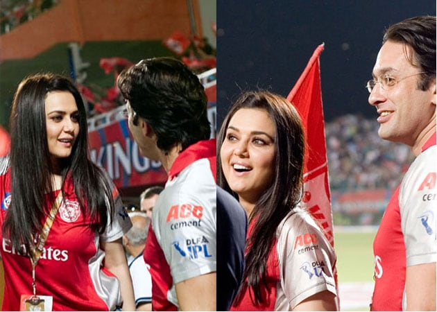 Preity And Ness Are Co Owners Of Ipl Team Kings Xi Punjab