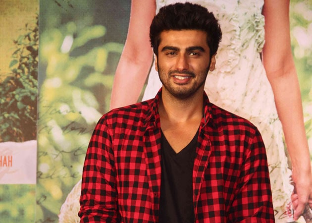 Arjun Kapoor's Back Sans the Tevar