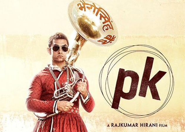 PK second poster out: Aamir Khan turns full-clothed