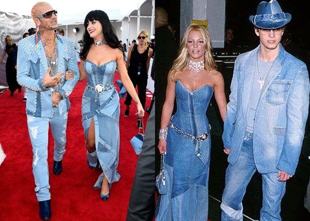 At Mtv Video Music Awards Katy Perry Shows Up Dressed As Britney Spears Ndtv Movies
