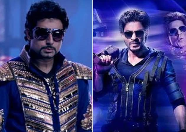 Shah Rukh Khan Now Calls Himself Charlie Abhishek Bachchan Goes By Nandu Bhide Ndtv Movies