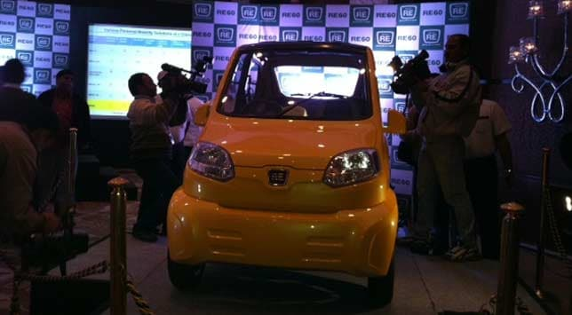 Toyota unveiled its Etios Motor Racing series at the Auto Expo 2012