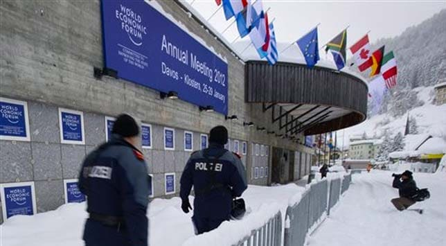 Davos 2012: Financial fragility and igloo protests