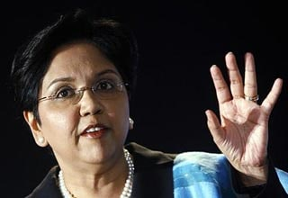 Pepsico CEO Indra Nooyi among 18 women leading Fortune 500
