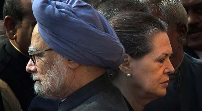 Prime Minister Manmohan Singh and UPA chairperson Sonia Gandhi. Photo: Manish Swarup/Associated Press/The New York Times