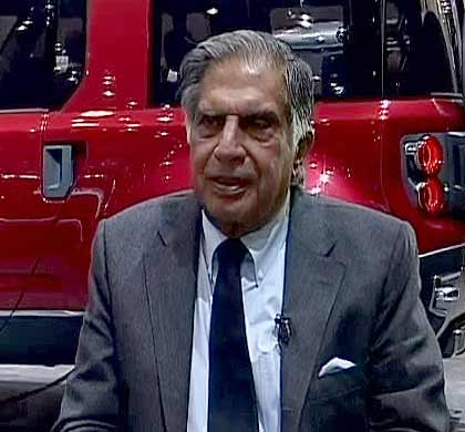 Ratan Tata buys 425,000 shares in Tata Motors for Rs 9.9 cr