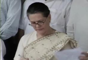 Sonia No 6 in Forbes list of world's most powerful women