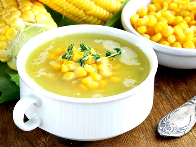 Sweet Corn Soup - NDTV Food Videos