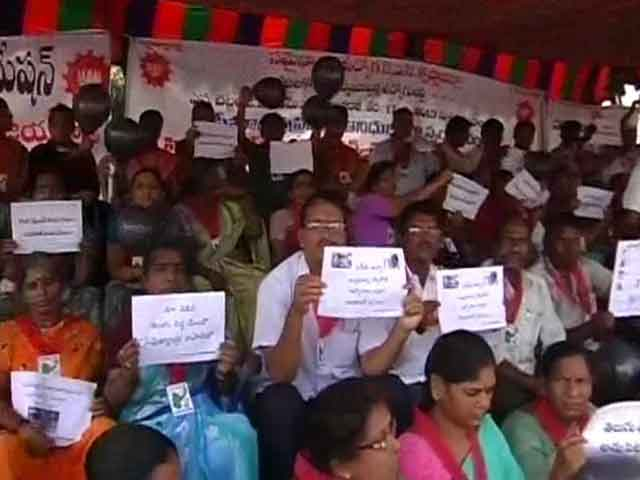 Video : A month of protests against bifurcation of Andhra Pradesh