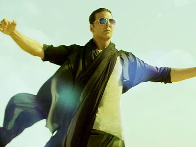 Video : Sneak peek: Akshay Kumar in <i>Boss</i> title song
