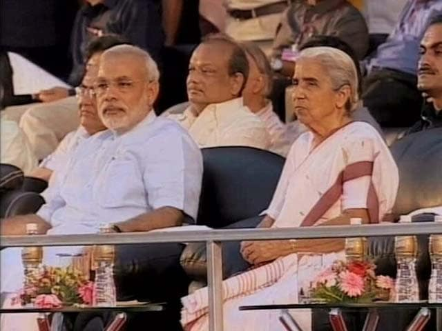 Video : In Gujarat, a new battle between governor and Narendra Modi