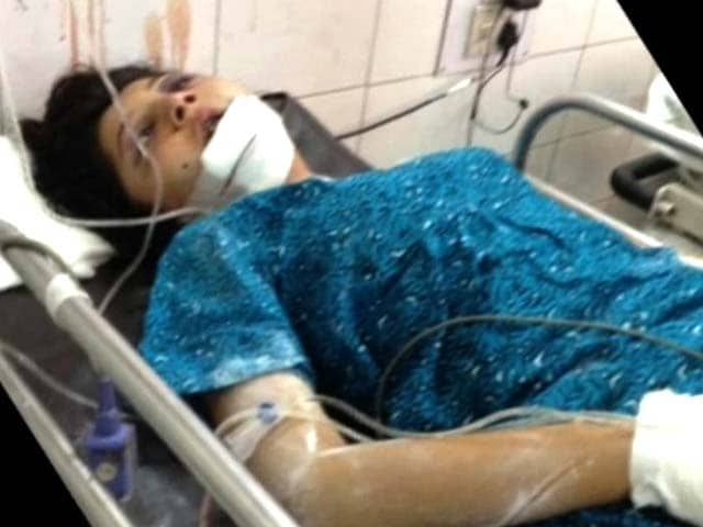 Video : Lucknow teen fighting for life, family blames college for ragging