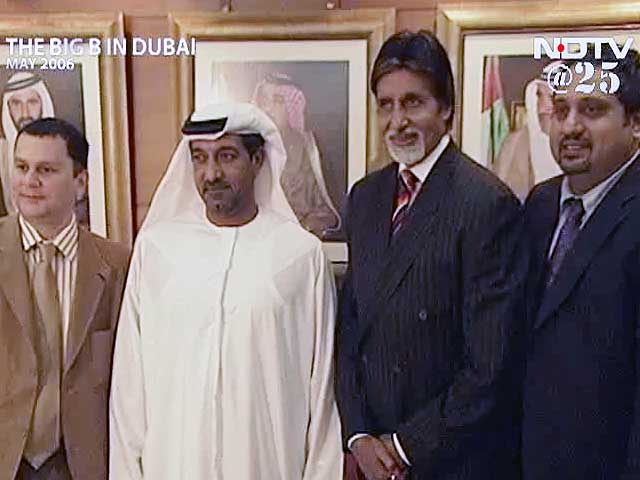Video : Big B in Dubai (Aired: May 2006)