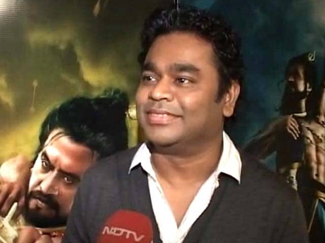 Video : Rajinikanth was hesitant to sing for <i>Kochadaiyaan</i>: AR Rahman