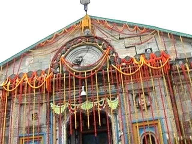 Video : At Kedarnath, prayers resume 86 days after tragedy